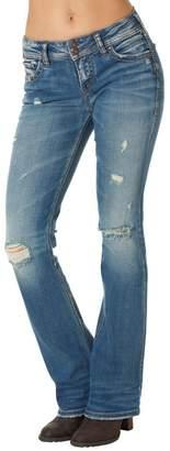 Silver Jeans Co. Suki Distressed-Bootcut