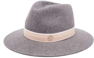 Maison Michel Rico Felt Hat - Womens - Grey