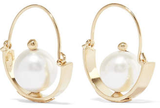 Rosantica Ginger Gold-tone Pearl Earrings
