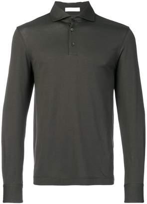 Cruciani long sleeve polo shirt