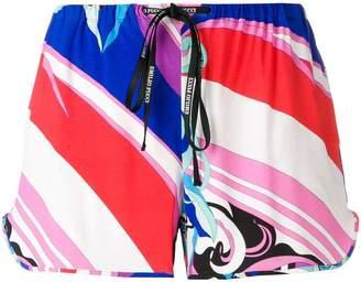 Emilio Pucci Merida Print Shorts