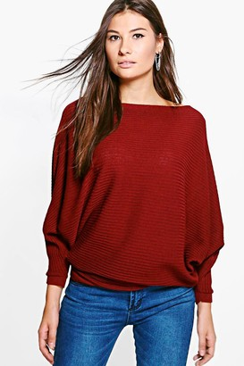 Red Rib Knit Knitwear For Women - ShopStyle UK a83c56e680897