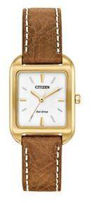 CitizenCitizen Eco-Drive Women's Silhouette Leather Watch - EM0492-02A