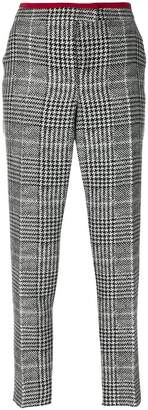 Fendi dogtooth tapered trousers