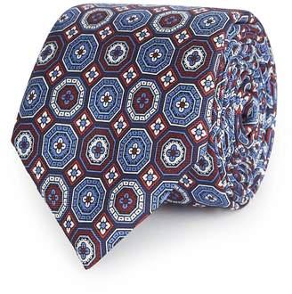Reiss Lorenzo Patterned Silk Tie
