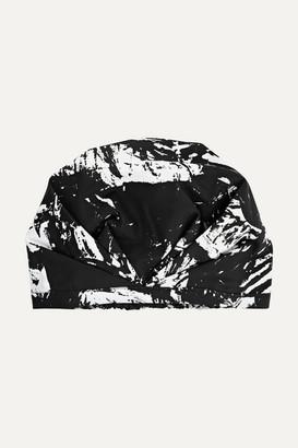 SHHHOWERCAP - The Kent Printed Shower Cap - Black