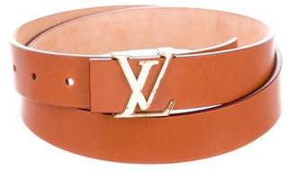 Louis Vuitton Leather Initiales Belt