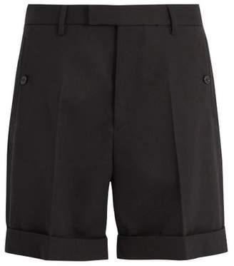 Gucci - Tailored Cotton Twill Shorts - Mens - Black