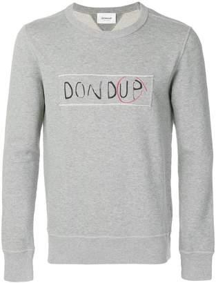 Dondup logo print sweatshirt