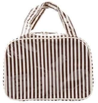 Henri Bendel Continental Stripe Cosmetic Case