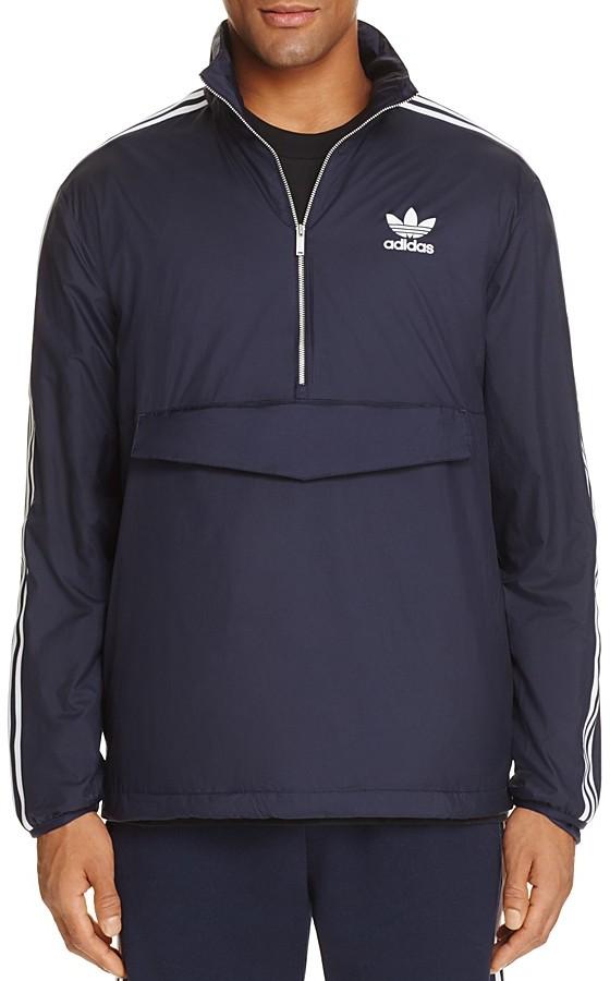 adidas Originals Half-Zip Windbreaker Jacket