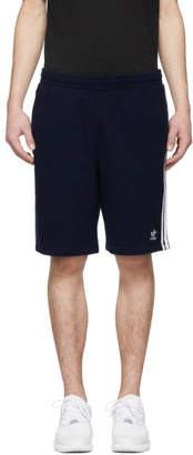 adidas Navy 3-Stripes Shorts