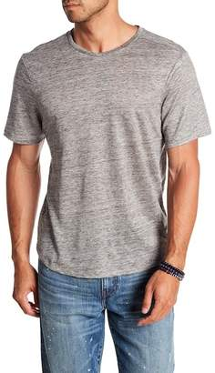 Good Man Brand V-Neck Short Sleeve Heather Linen Tee
