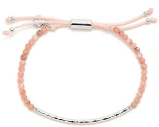 Gorjana Power Gemstone Adjustable Beaded Bracelet - Rhodochrosite