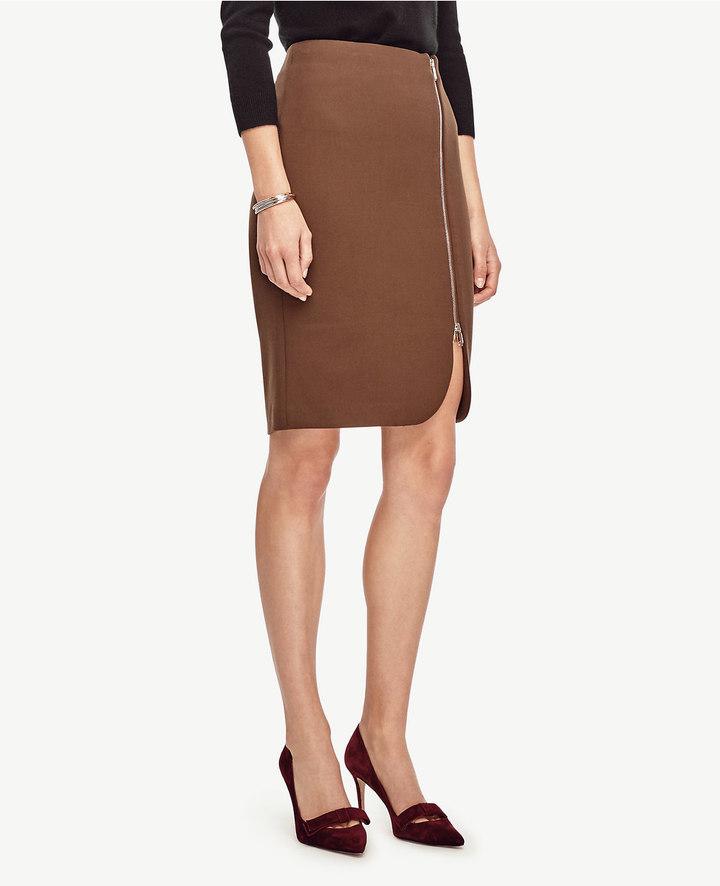 Ann TaylorSide Zip Pencil Skirt