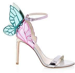 Sophia Webster Women's Chiara Metallic Slingback Sandals