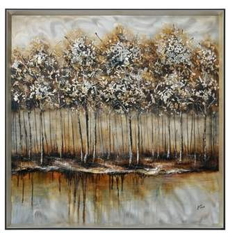 Ren Wil RENWIL Metallic Forest Wall Art