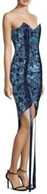 Misha Collection Lorron Floral Bodycon Dress