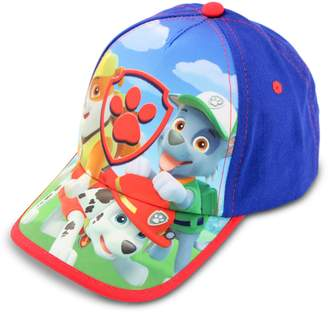 Nickelodeon Toddler Boys Paw Patrol Baseball Cap, Featuring Rubble, Marshall And Rocky
