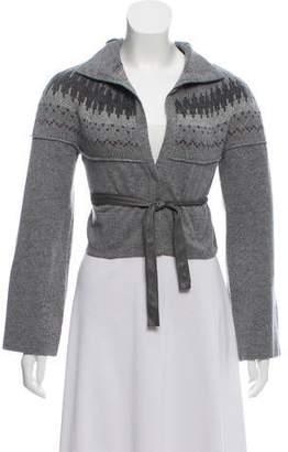 Rivamonti Cropped Wool Cardigan