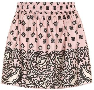 RED Valentino Bandana-print skirt