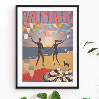 Red Gate Arts 'Whitstable Oyster Festival 2013' Art Print