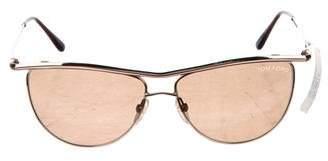 Tom Ford Helene Aviator Sunglasses