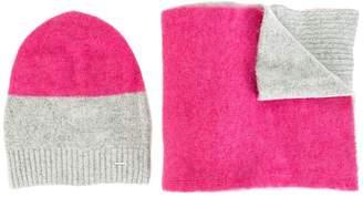 Diesel colour block scarf set