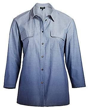 Plus Size Chambray Shirts - ShopStyle