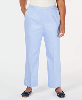 Alfred Dunner Turtle Cove Plus Size Pull-On Pants