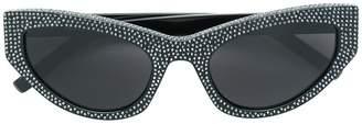 Saint Laurent Eyewear 215 Grace embellished cat-eye sunglasses