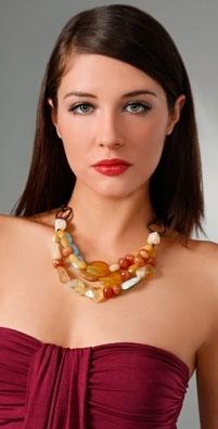 Lee Angel Jewelry Rise Carnelian Necklace