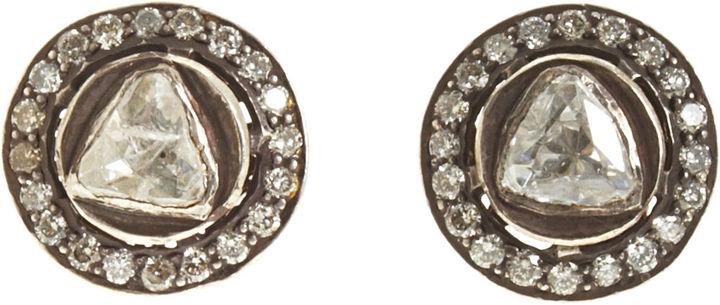 Munnu Diamond Stud Earrings