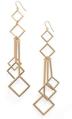 Natasha Geometric Drop Earrings