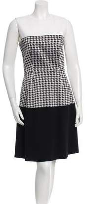Narciso Rodriguez Sleeveless Houndstooth Dress w/ Tags