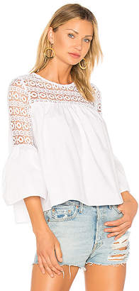 Endless Rose Louvre Top in White $51 thestylecure.com