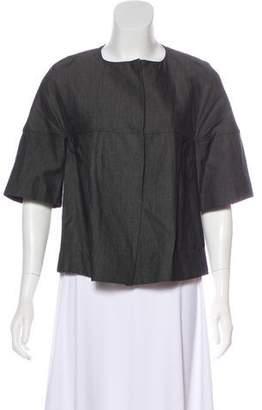 Marni Short Sleeve Cropped Jacket