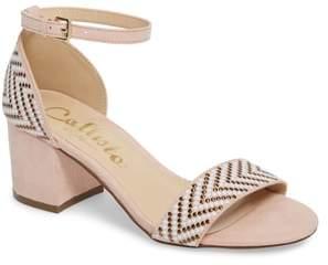 Callisto Mercer Ankle Strap Sandal