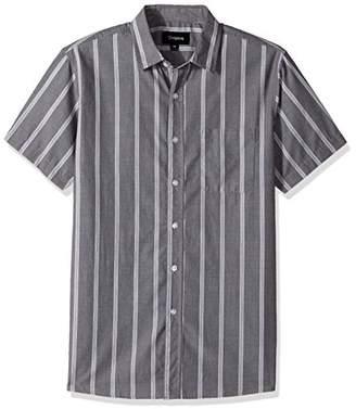 Brixton Men's Decca Standard Fit Short Sleeve Woven Shirt