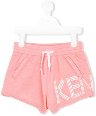 Kenzo (ケンゾー) - Kenzo Kids ロゴプリント ショートパンツ