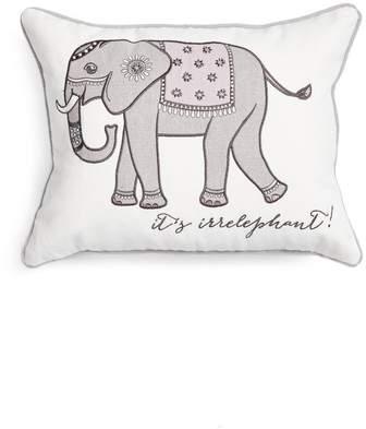 Parma Lavender Elephant Accent Pillow