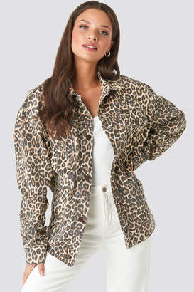 Cheap Monday Upsize Jacket Cheeta Brown