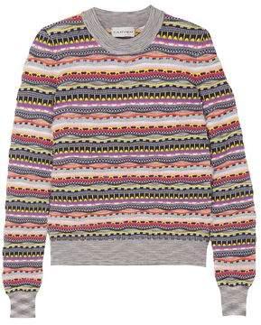 9534dcadd5 Carven Textured Cotton-blend Sweater