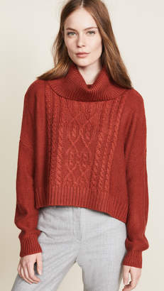 BB Dakota Jack by Say Anything Cable Knit Sweater