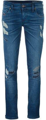 Diesel super slim skinny jeans $215.92 thestylecure.com