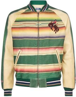 Polo Ralph Lauren Striped Western Bomber Jacket