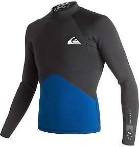 Quiksilver NEW QUIKSILVERTM Mens Highline Performance 1mm Long Sleeve Neo Wetsuit Jacket 20