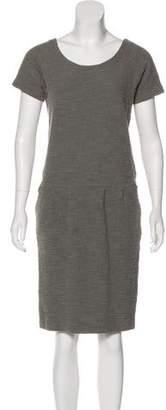 Humanoid Tweed Knee-Length Dress