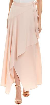 BCBGMAXAZRIA Ruffle Wrap Skirt