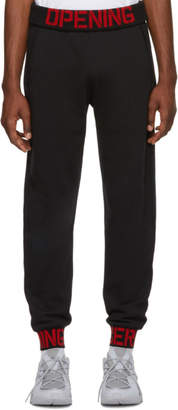 Opening Ceremony Black C-Elastic Logo Lounge Pants